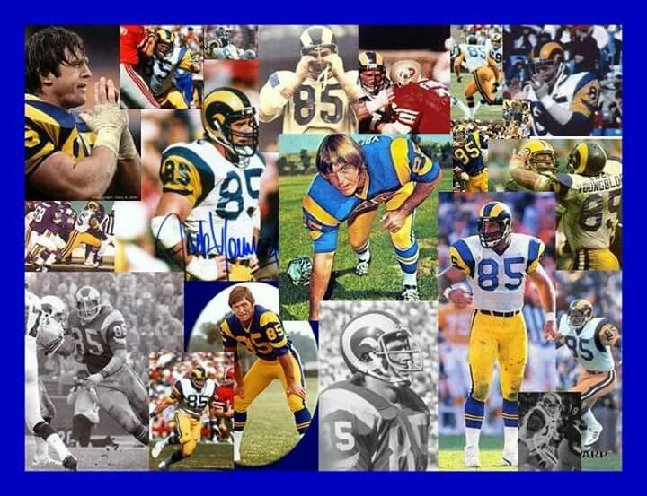 Jack Youngblood 85 My All Time Favorite Ram La Rams Los Angeles Rams Nfl Championships