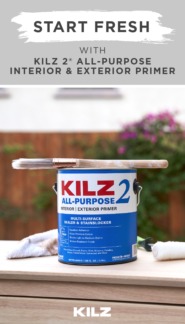 Pin By Kilz Primers And Paint On Primers In 2020 Kilz Exterior Primer Kilz Primer