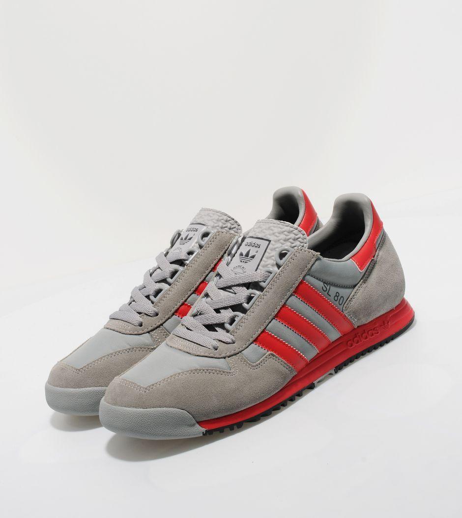 Adidas Originals SL 80 grey/red