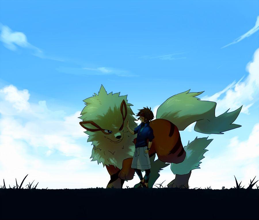 Arcanine and Kyouhei #Pokemon
