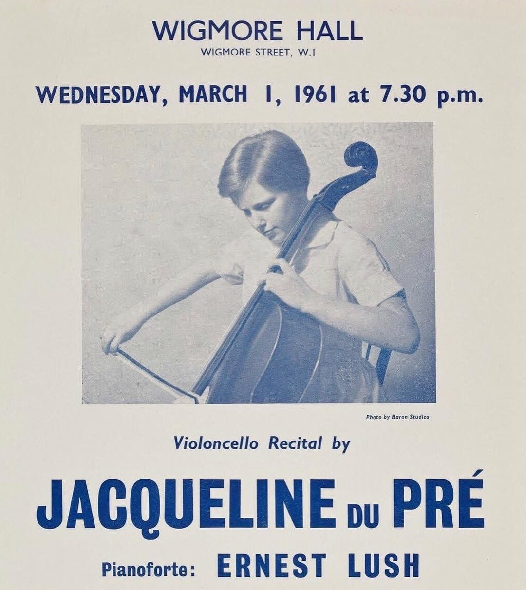 Pin By Jh Oh On Cello Jacqueline Du Pre Recital Photo