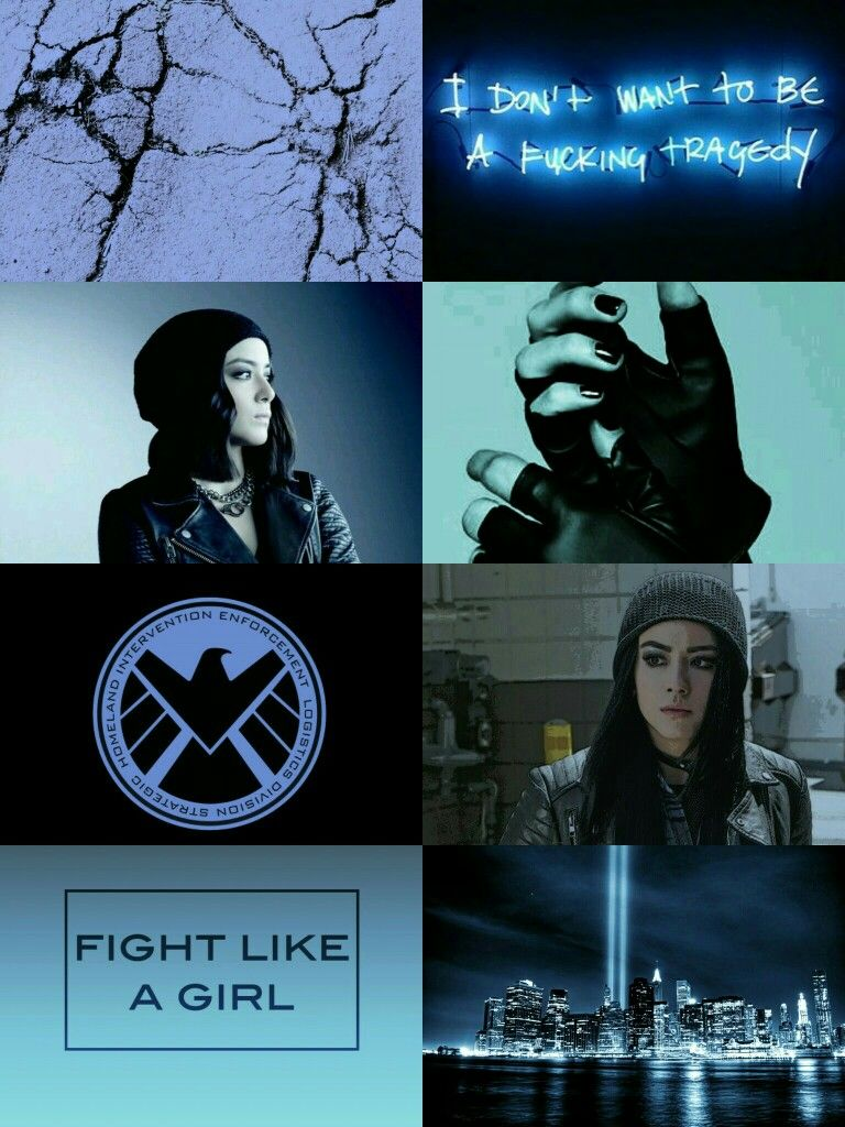 Aesthetic Daisy Johnson Aka Quake From Marvel S Agents Of Shield