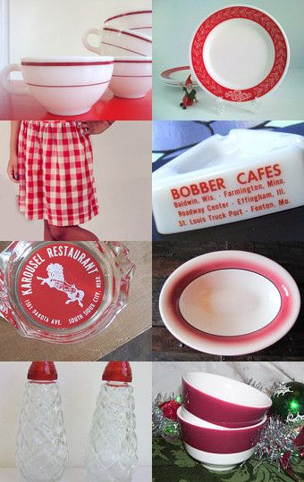 Little red diner-congrats PlayfullyVintage by betsy durham on Etsy--Pinned with TreasuryPin.com