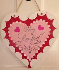 Image result for painted hearts on wood