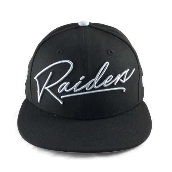 deee9924b Oakland Raiders Scripted Turn Snapback Cap