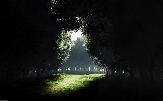 A hope of light in a dark night...