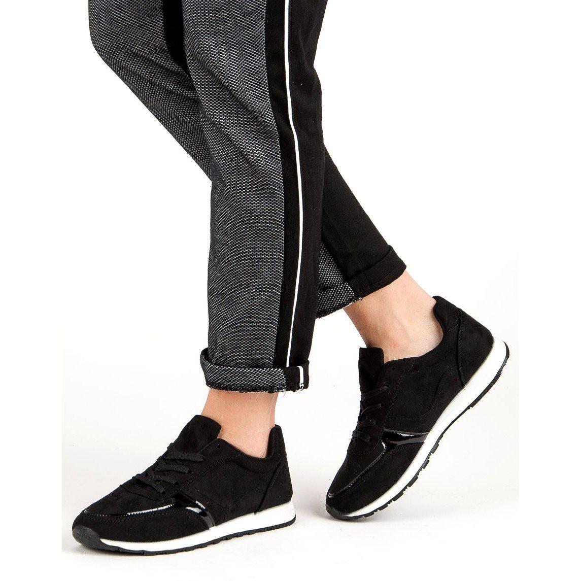 Buty sportowe damskie z gumką