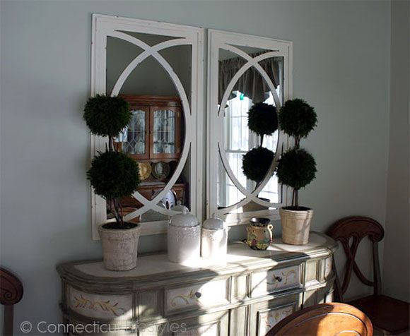 mirrors from home goods pottery barn hack - Home Goods Wall Decor