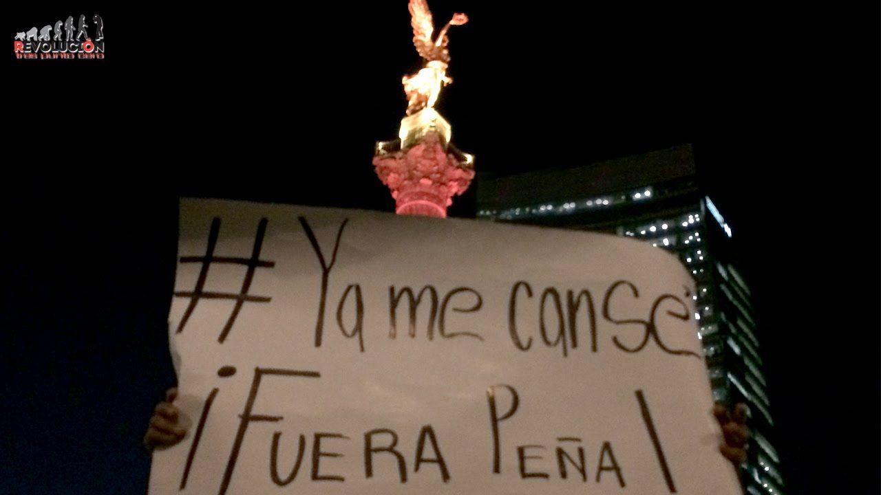 A dos años de la imposición de Peña, miles toman las calles para exigir ...