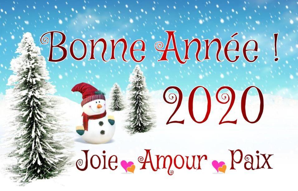 Bonne Année 2020 : SMS & Textos #voeuxbonneannée