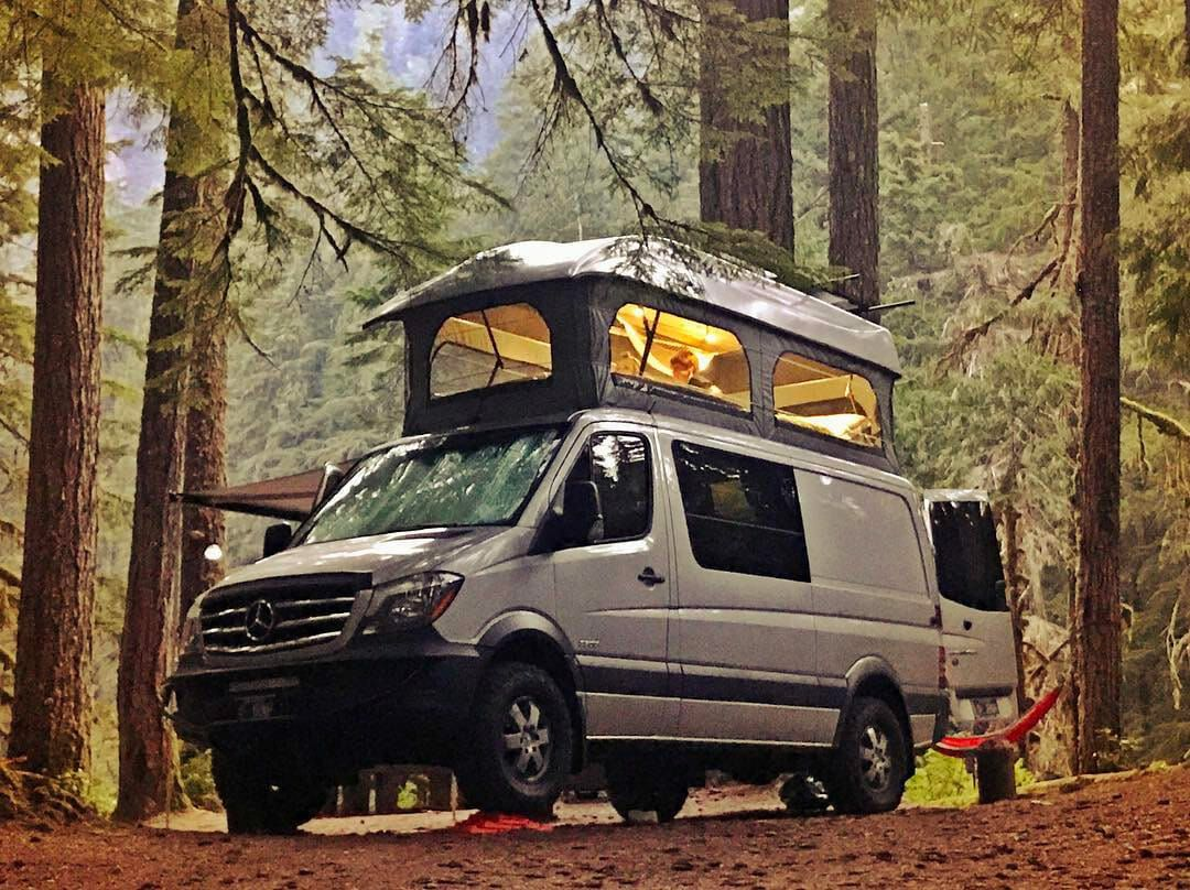 Do You Need A Van You Can Stand Up In Pop Top Camper
