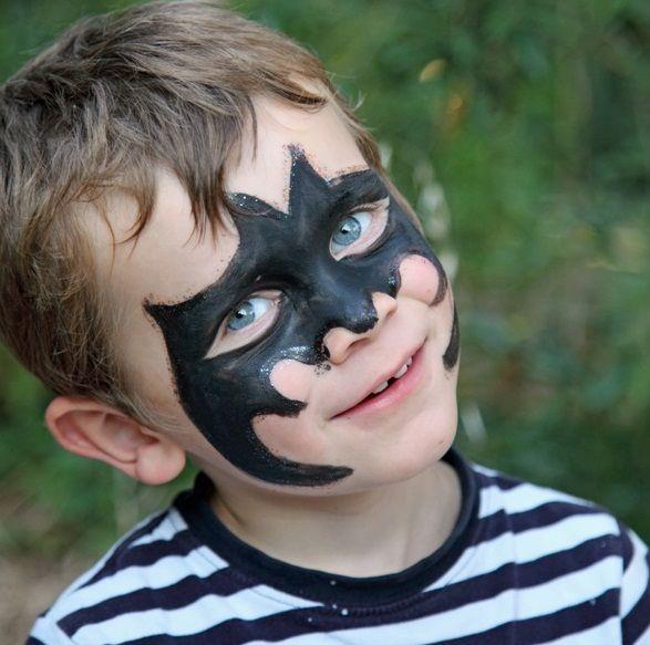 Kids Halloween Makeup Ideas   Face paintings