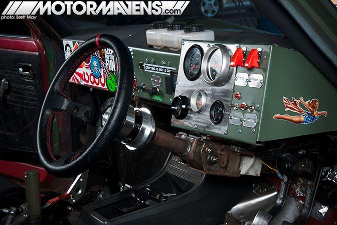Dash Of A Datsun 620 Sr20det Drift Truck Datsun Drift Truck Truck Interior