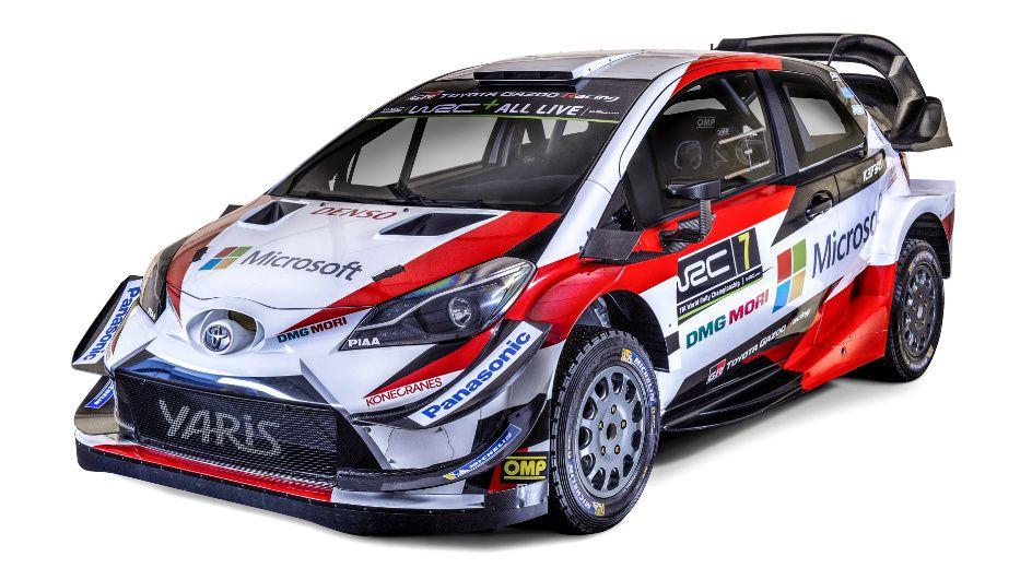2018 Toyota Yaris Wrc Yaris Rally Car Motor Car