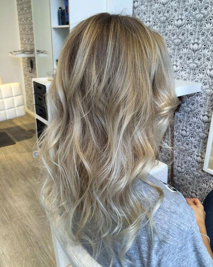 52 Blonde Balayage Looks to Envy | Thin hair, Balayage and Hair style