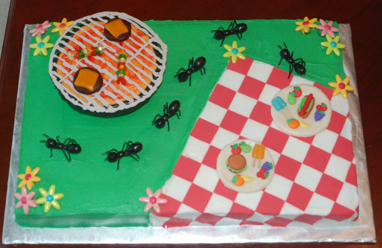 Picnic/BBQ cake (6/20/12)