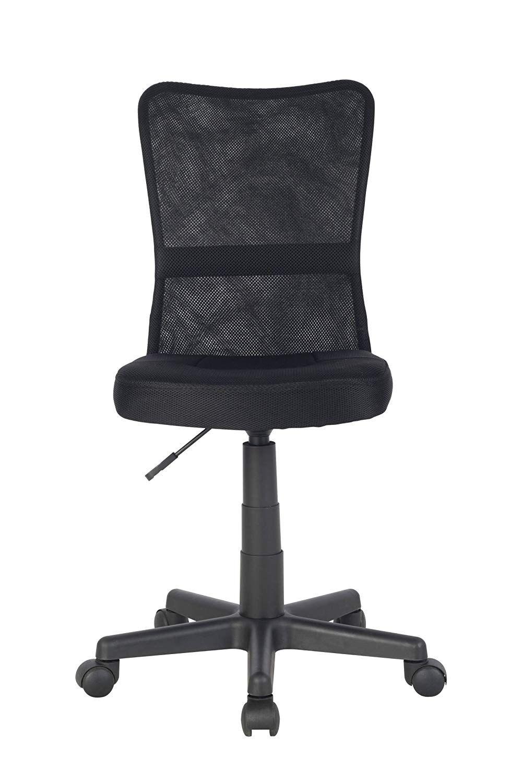 Sixbros Chaise De Bureau Fauteuil A Roulette Noire H 298f 2064 Siege Et Dossier En Tissu Reglage En 2020 Fauteuil Chaise Chaise Bureau