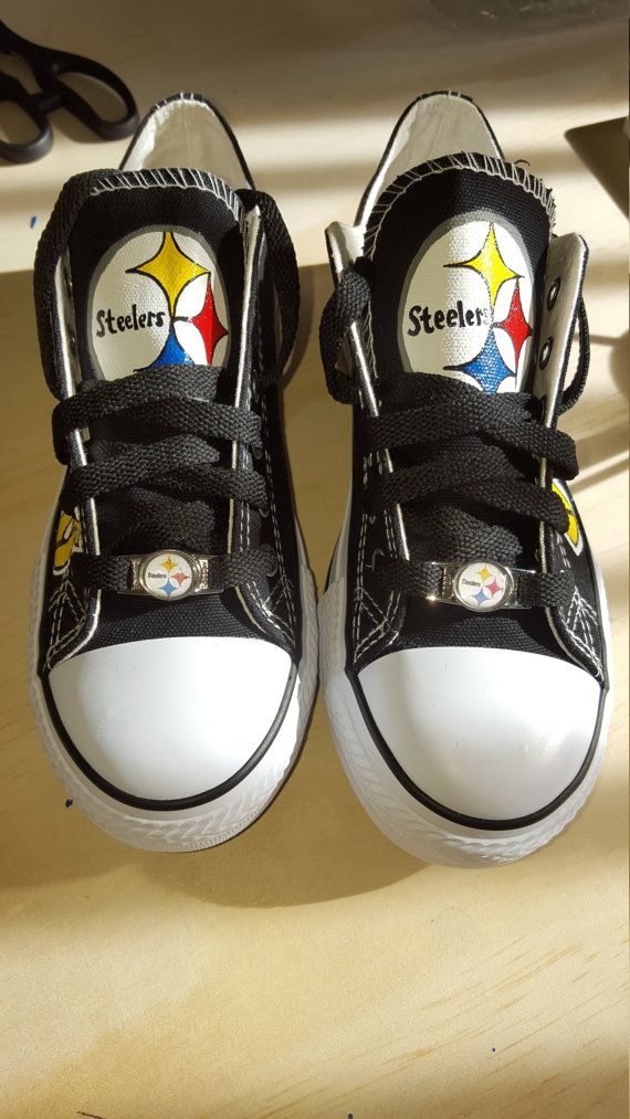 5378468bd7cad6 Pittsburgh Steelers Shoes-Nike Roshe One Mens and Custom Pittsburgh Steelers  fan shoes by RubyRoseslippers on Etsy ...