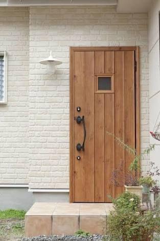 白レンガ調 外壁 の画像検索結果 ドアのデザイン レンガ 玄関ドア