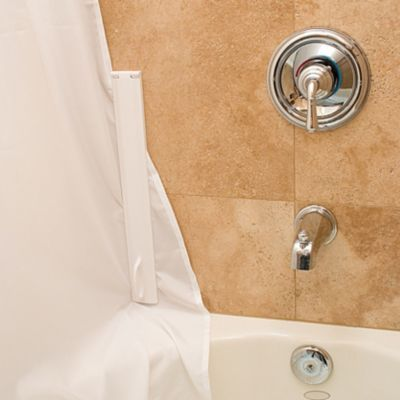 Shower Curtain And Liner Lock Set Of 2 Diy Shower Shower Tub