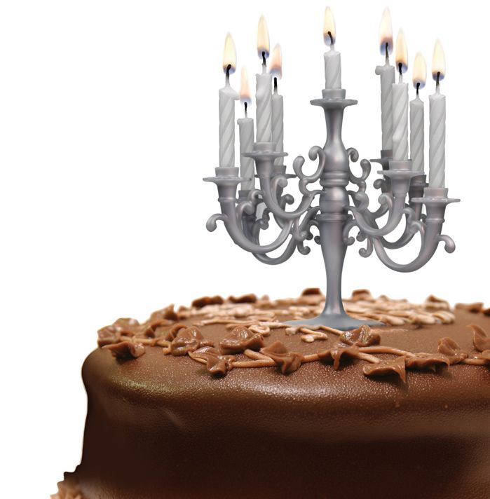 Cake Candelabra With Candles Save On Crafts