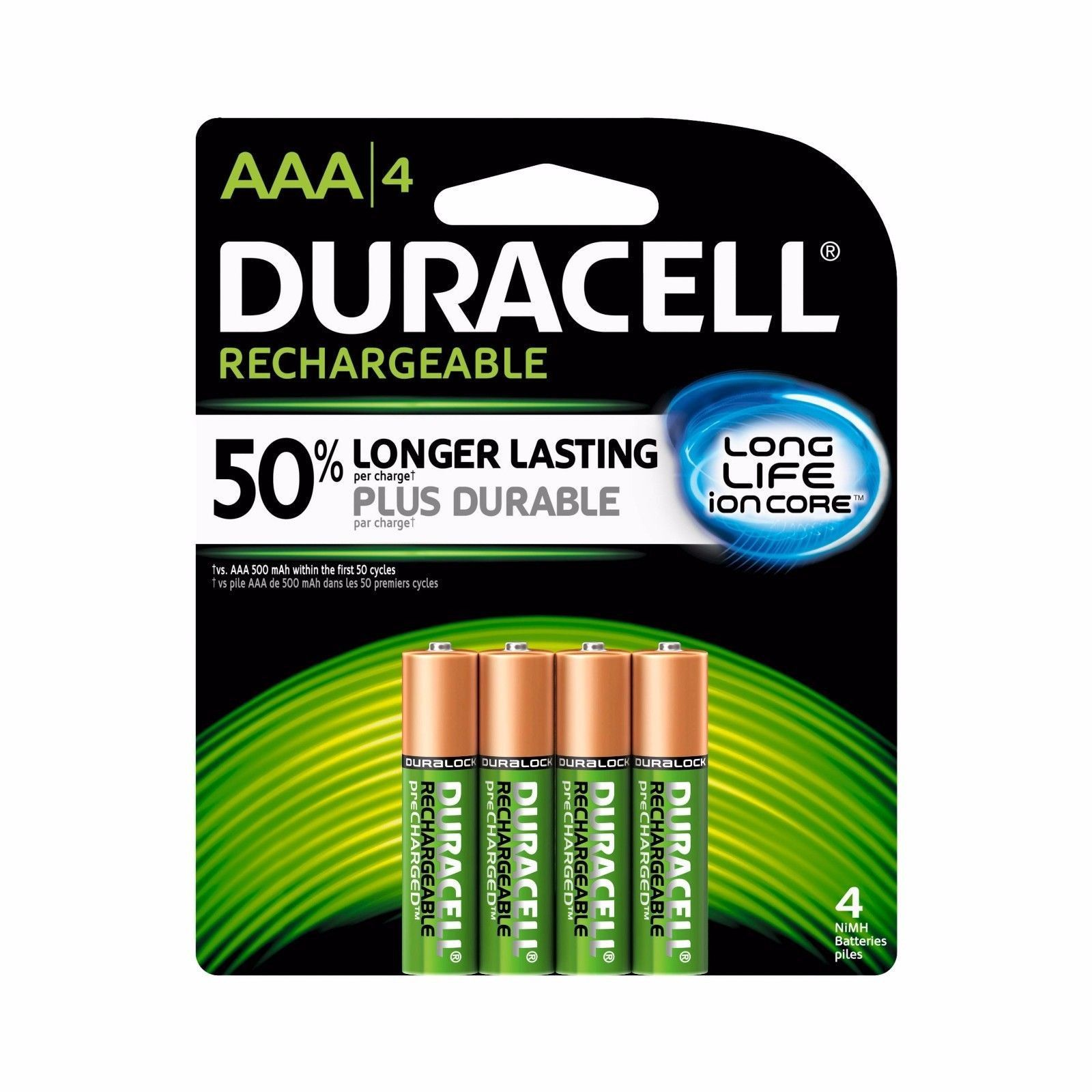 Aaa Rechargeable Battery Duracell