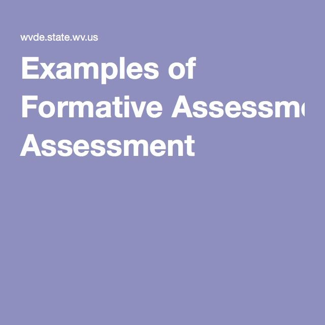 Delightful Objective #10 This Website Provides Links To Different Types Of Formative  Assessments That Can Be