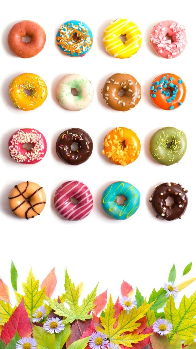 Doughnut Frames iPhone 5 wallpaper Go to website for