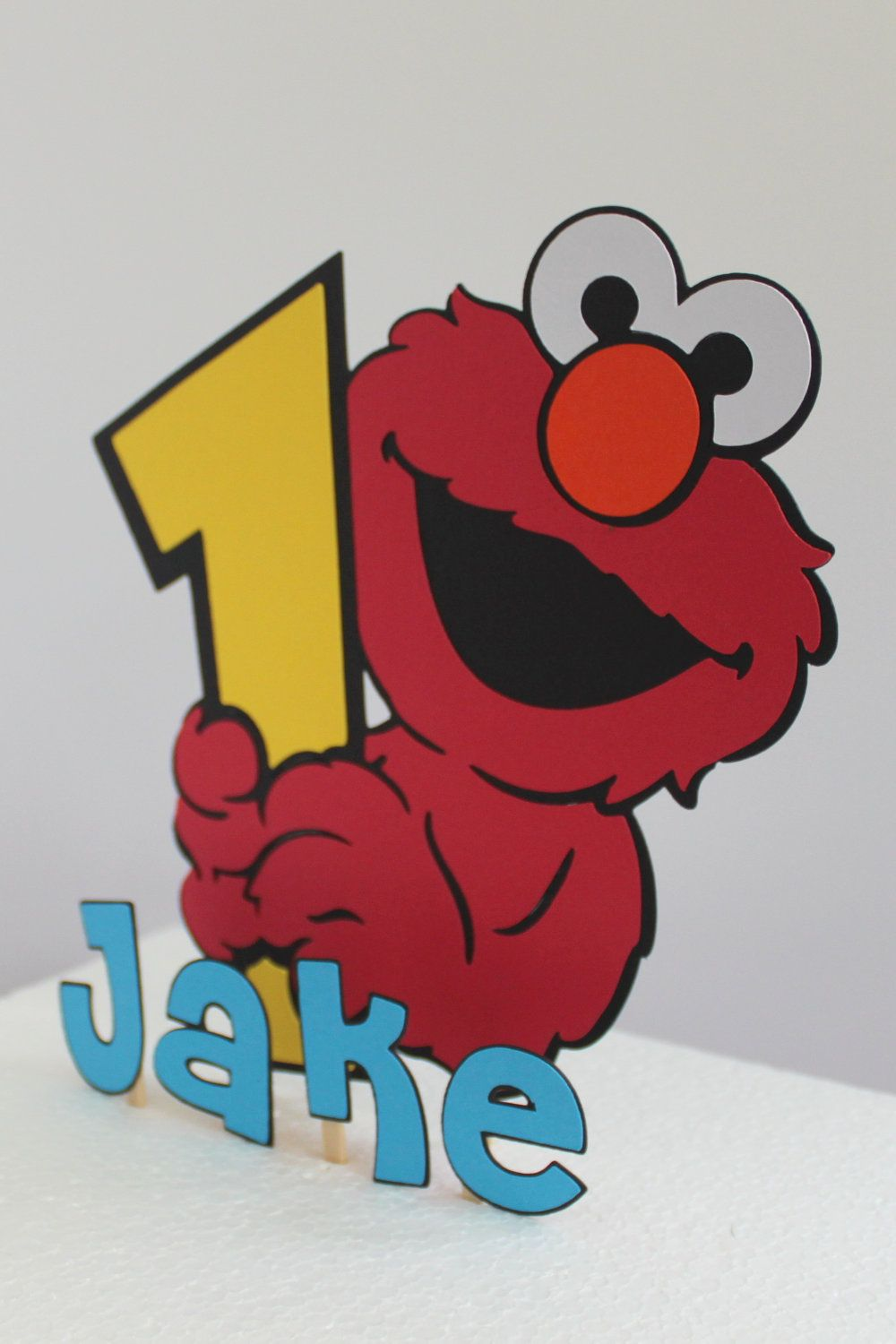 Elmo First Birthday Smash Cake Personalized By Calladoo On Etsy P