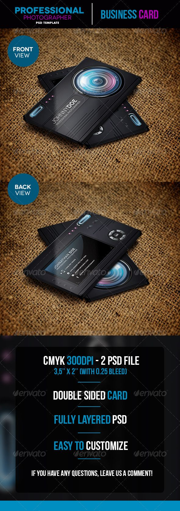 Professional photographer business card template psd download here photographer business card template psd download here httpgraphicriveritemprofessional photographer business card5448242srank92ref wajeb Choice Image