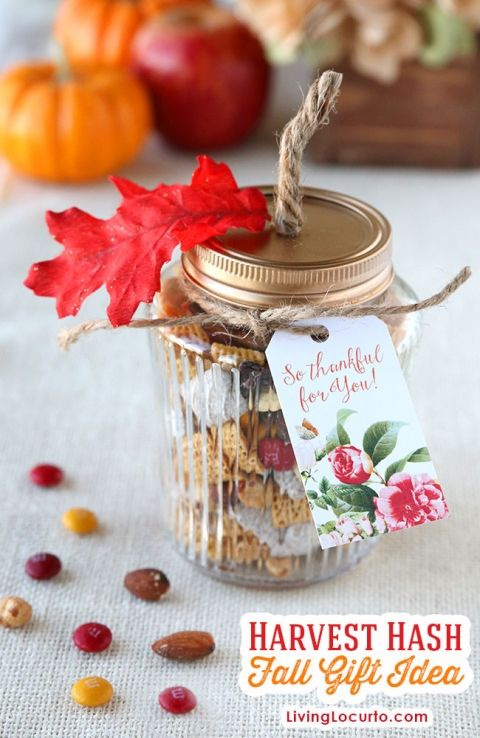 Personalized Place Setting & Harvest Hash Trail Mix Recipe