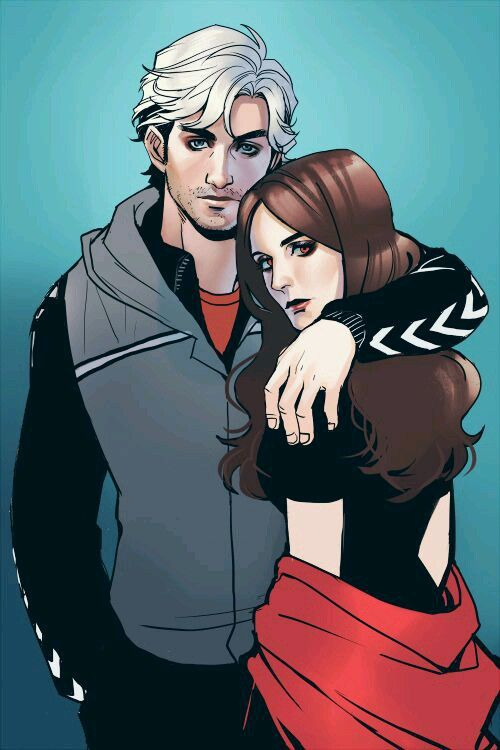scarlet witch and quicksilver quicksilver and scarlet
