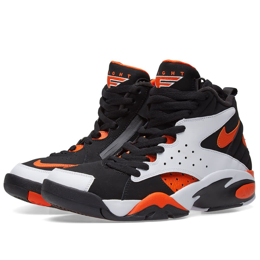 Nike Air Maestro II Ltd White, Rush Orange & Black 1