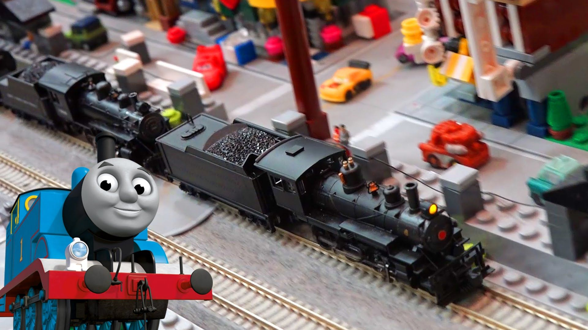 Toy Trains Video For Children Great Train Expo Feat Thomas And