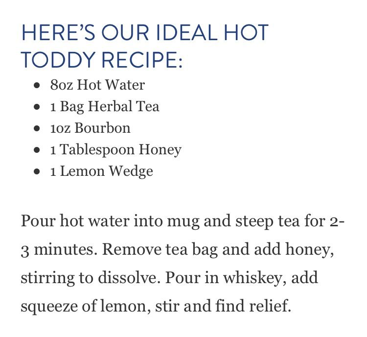 Hot Toddies Recipe, Steeped Tea, Hot Toddy