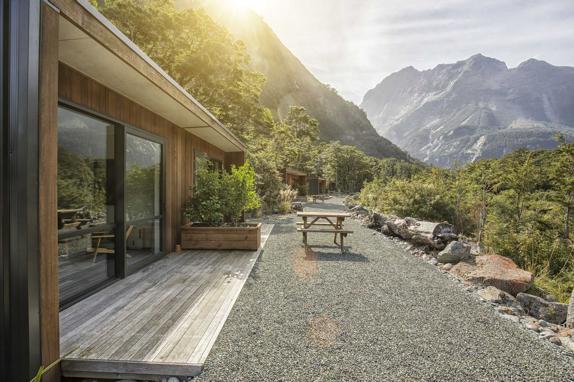 The Mountain View Chalets At Milford Sound Lodge In