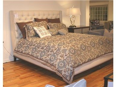 Vanguard Factory Outlet Bedroom Michael Weiss King Bed By Vanguard Furniture    Hickory Furniture Mart   Hickory, NC