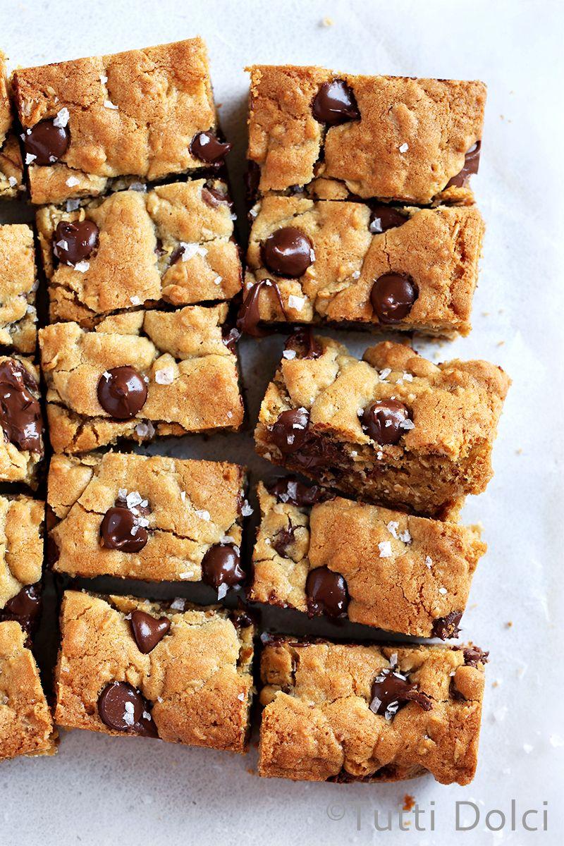 Chocolate chip nutella cookie bars recipe nutella