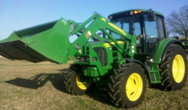 2011 John Deere 6230 Tractor With Cab 4x4 W Loader 364