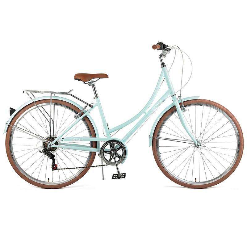Beaumont City Bike 7 Speed Step Thru With Images City Bike Bike