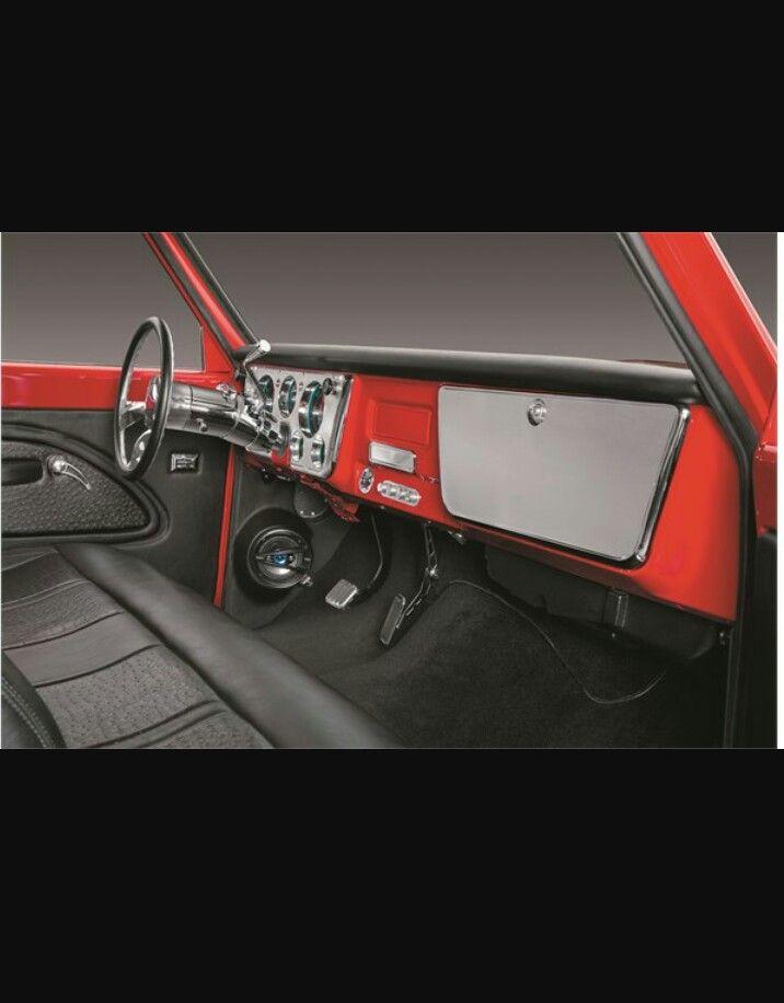 Custom Interior Design In 67 72 Chevy Truck C10 Chevy Truck 72 Chevy Truck 67 72 Chevy Truck