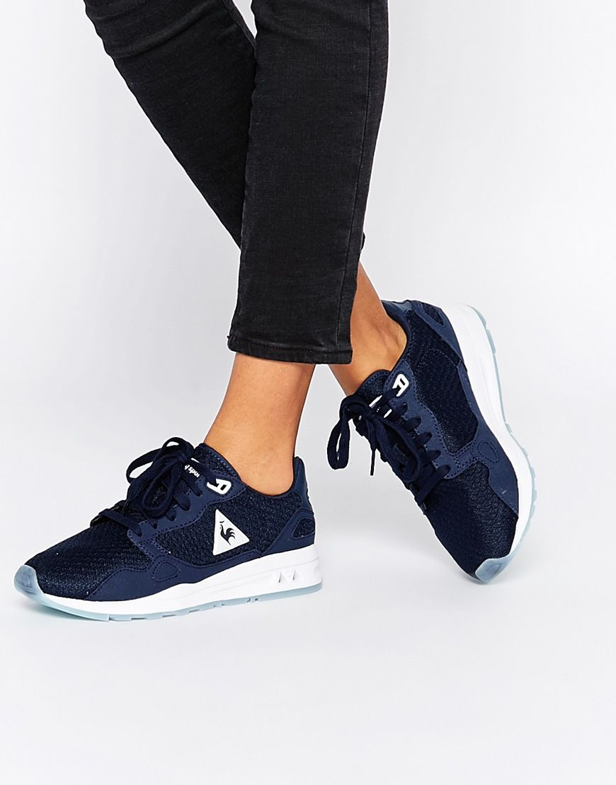 Le Coq Sportif LCS R900 Navy Trainers at asos.com