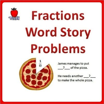 Fraction Word Problems Worksheets 4th Grade 5th Grade Enter For