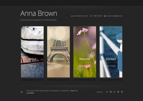 Top 20 Most Inspiring Creative Vertical Menu Designs Webdesign Creative Design Portfolio Menu Design Design Portfolio Resume
