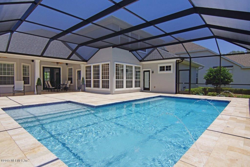 Great Traditional Swimming Pool With Skylight Lap Pool In St Augustine Fl Indoor Pool Design Pool Houses Pool Screen Enclosure