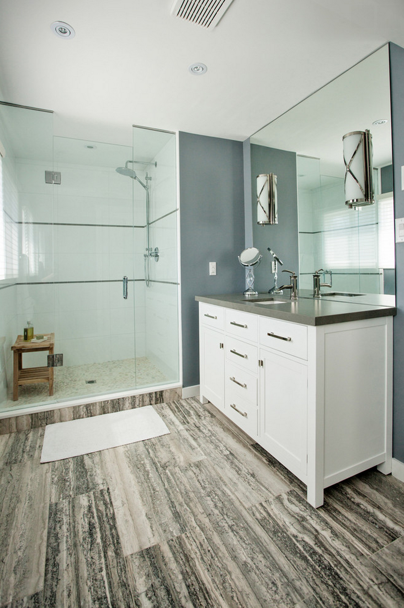 This is actually a simple and practical bathroom design. | Home is ...