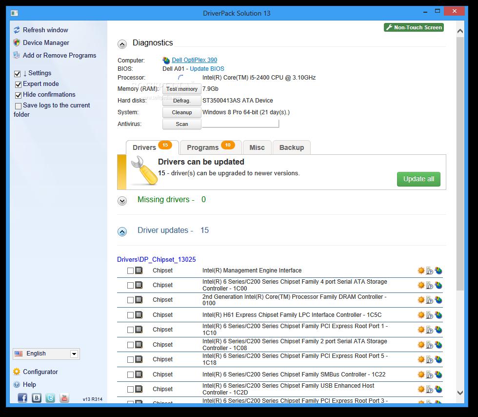 DriverPack Solution 15 | Wajahat Ullah Web | Windows