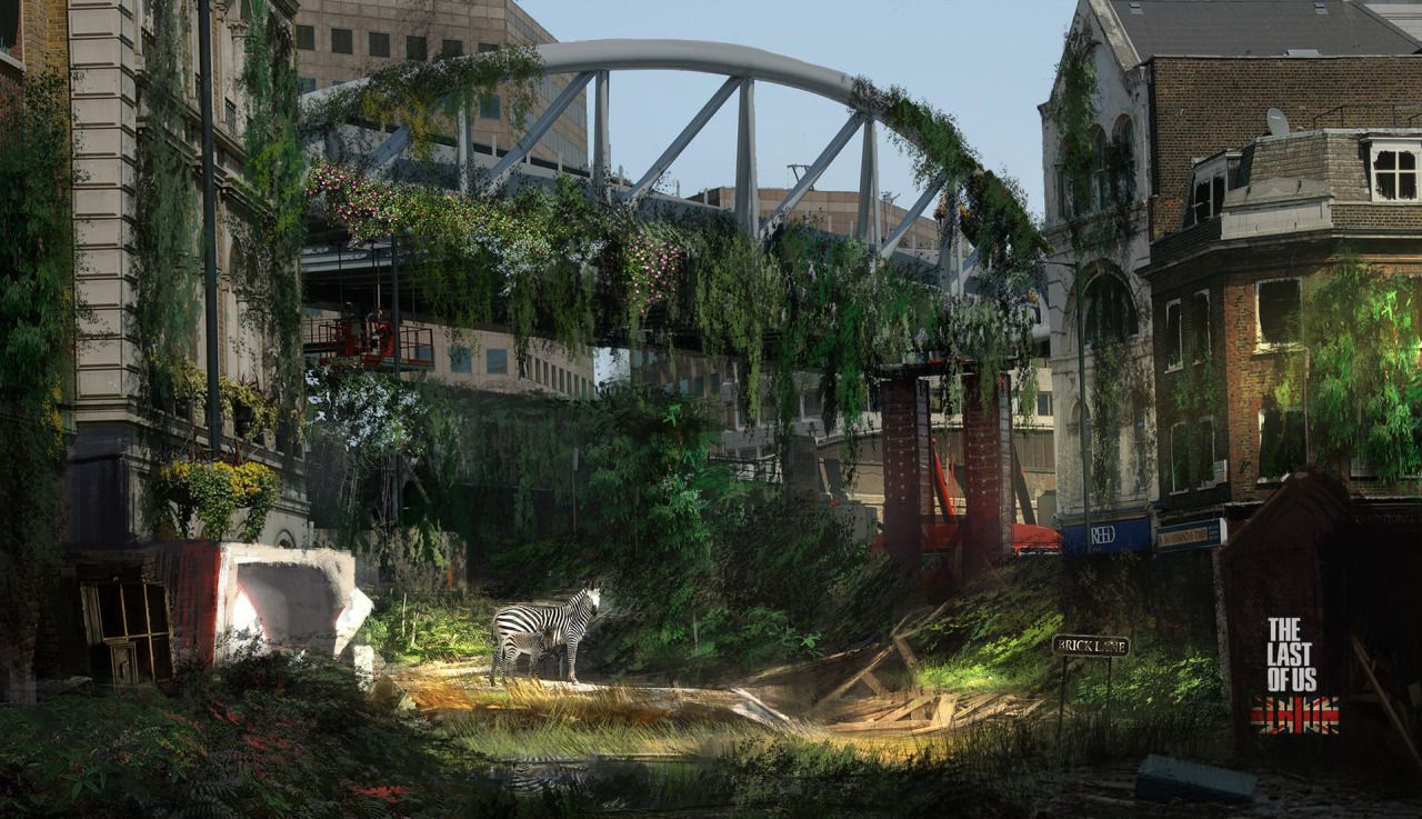 Brandon Gobey Wallpapers: The Last Of Us + Concept Art