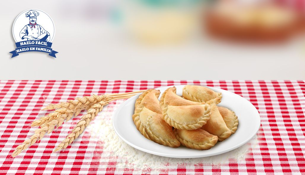 Empanadas Fritas de Mejido - Harina Santa Lucía
