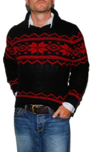 Black And Red Ralph Lauren Jumper